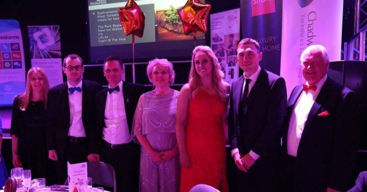 Yorkshire's Legal People and Kevin Sinfield attend Wakefield Gala Dinner