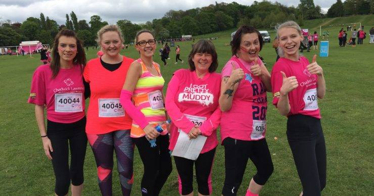 Team Chadwick Lawrence Get Pretty Muddy