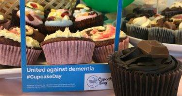 Chadwick Lawrence Raise Money for Alzheimer's Society Cupcake Day