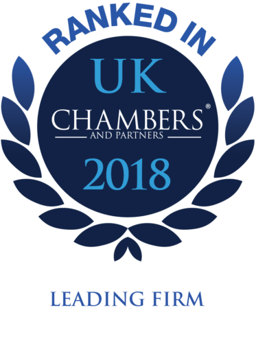 Chambers UK 2018 Law Firm Guide