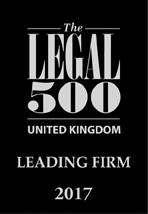 The Legal 500 Leading Firm Family Department