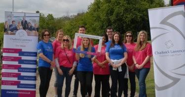 Chadwick Lawrence Sponsor Wakefield Memory Walk 2019