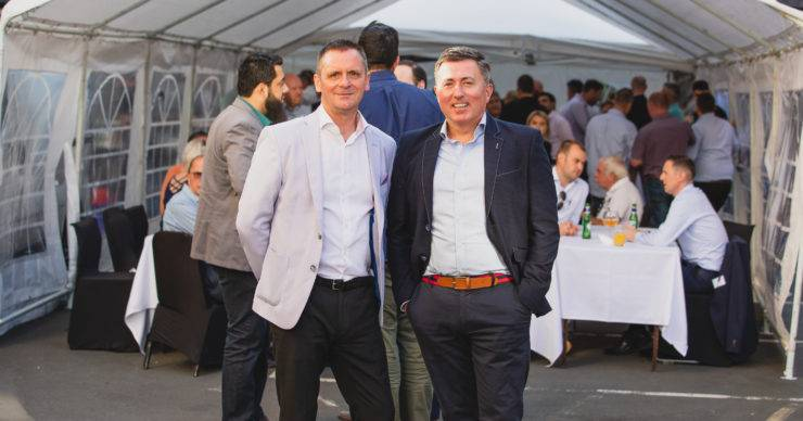 CHADWICK LAWRENCE AND FANTASTIC MEDIA CELEBRATE SUCCESS WITH DOCK STREET ANNUAL BBQ EVENT.