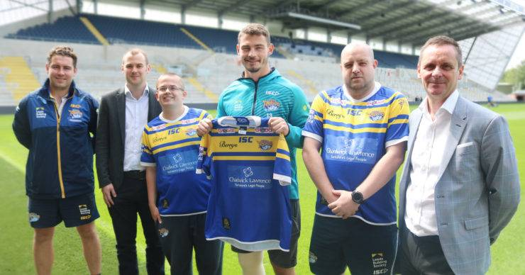 CHADWICK LAWRENCE 2019 SPONSORS OF LEEDS RHINOS PHYSICAL DISABILITY RUGBY LEAGUE AND LEARNING DISABILITY RUGBY LEAGUE