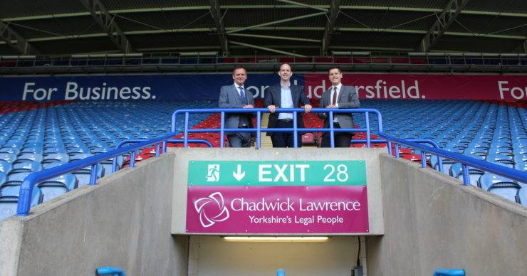 CHADWICK LAWRENCE NAMED STAND SPONSOR OF THE JOHN SMITH'S STADIUM