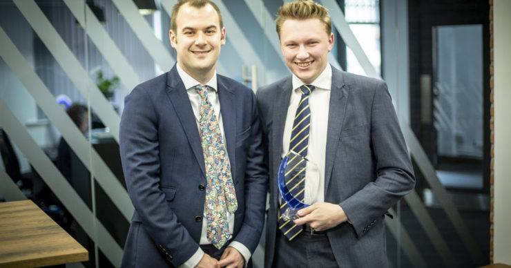CHADWICK LAWRENCE RECEIVE INNOVATION AND PEOPLE DEVELOPMENT AWARD AT THE 2019 CILEx AWARDS