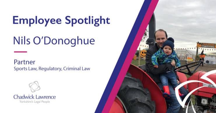Employee Spotlight – Nils O'Donoghue