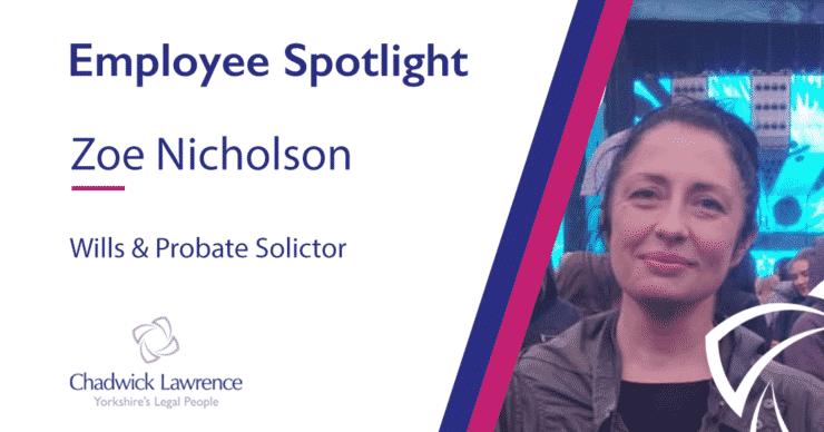 Employee Spotlight – Zoe Nicholson