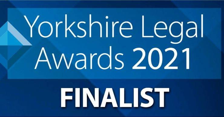 Chadwick Lawrence Shortlisted at the Yorkshire Legal Awards 2021